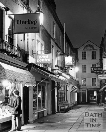 Northumberland Place, Bath, c.1977