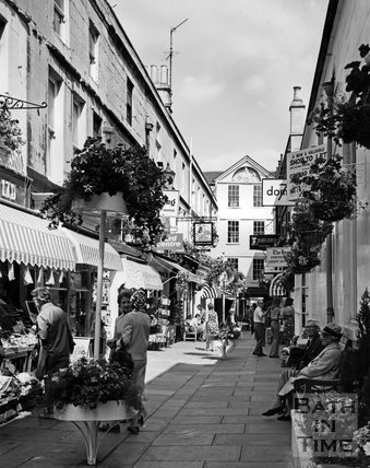Northumberland Place, Bath, c.1977