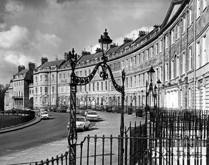 Lansdown Crescent, Bath, c.1973