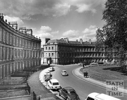 The Circus, Bath, c.1973