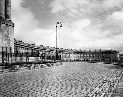 The Royal Crescent, Bath, c.1973