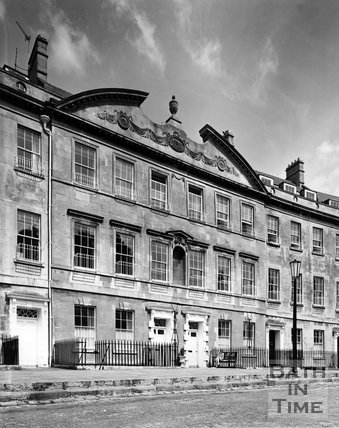 Somerset Place, Bath, c.1973