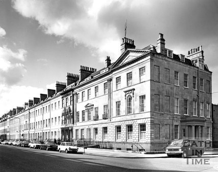 Great Pulteney Street, Bath, c.1973