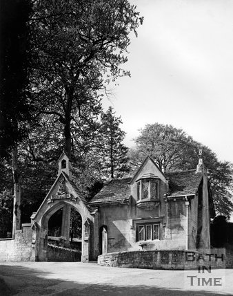The Cloisters Lodge, Perrymead, Bath, c.1973