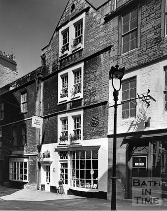 Sally Lunn's House, North Parade Passage, Bath, c.1973