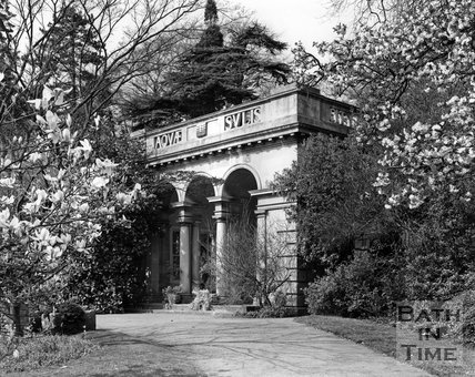 The Botanical Gardens, Royal Victoria Park, Bath, c.1973