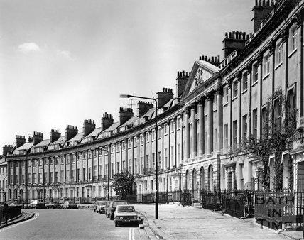 Camden Crescent, Bath, c.1973