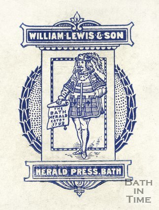 The Herald Press of Bath crest, 1917