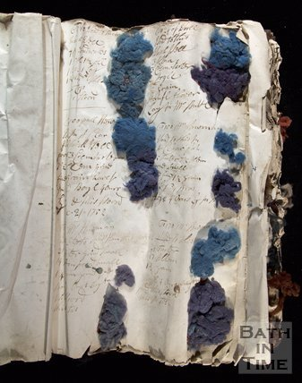 The Wallbridge Mill Dyebook, Book1, Frome, Somerset, c18th