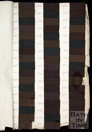 The Wallbridge Mill Dyebook, Book3, Frome, Somerset, c.19th