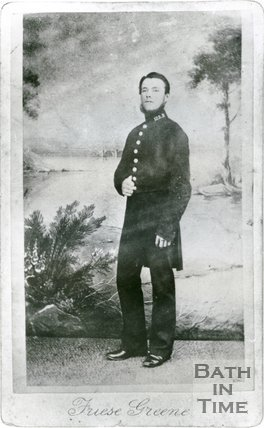 Portrait of an unknown policeman