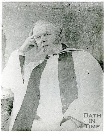 Portrait of Rev. J.A. Bailey