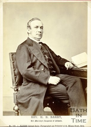 Portrait of Reverend H.B. Barry