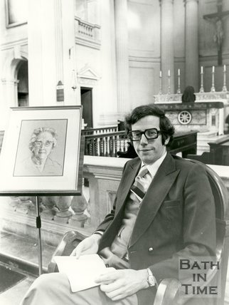 Portrait of Richard Bates, 16 March 1983