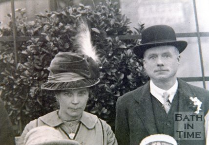 Portrait of James and Elizabeth Beaverstock, 1919