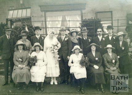 Portrait of the Beaverstock Family, 1919