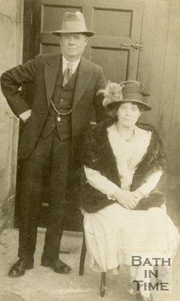 Portrait of James and Elizabeth Beaverstock