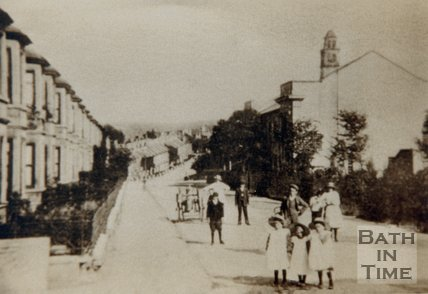 Triangle and Stanley Road, Bath, circa 1907