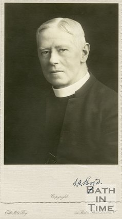 Portrait of S.A Boyd