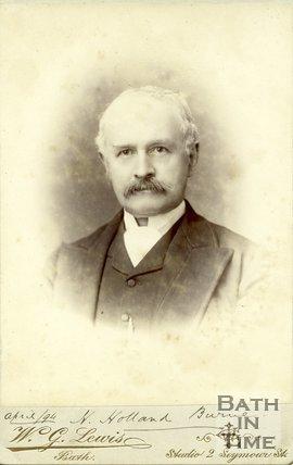 Portrait of H. Holland Burne, 1894