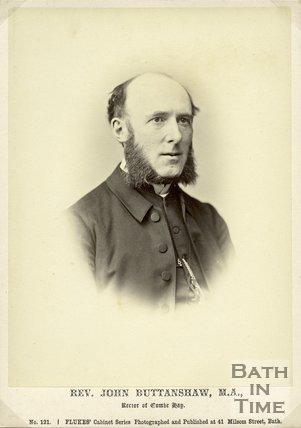 Portrait of Reverend John Buttanshaw M.A.