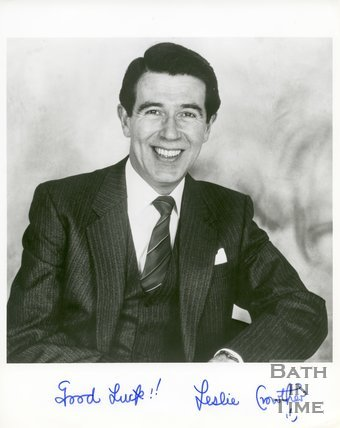 Autographed portrait of Leslie Crowther (1933-1996)