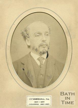 Portrait of C.F. Marshall. Esq