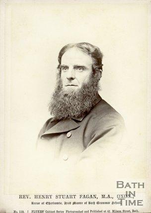 Portrait of Reverend Henry Stuart Fagan