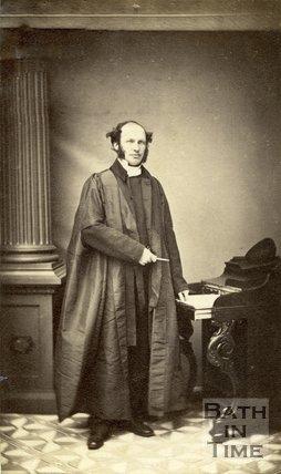 Portrait of Reverend J. Glover.