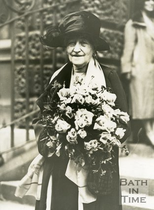 Photograph of Dame Sarah Grand, CBE (1854 - 1943), 1904