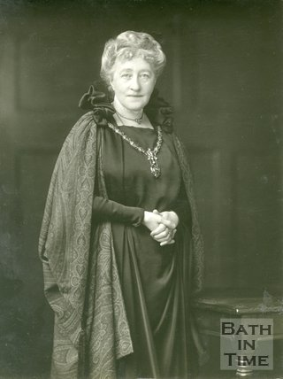 Portrait of Dame Sarah Grand CBE (1854 - 1943)
