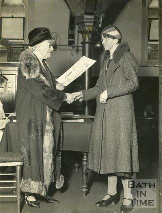 Portrait of Dame Sarah Grand CBE (1854 - 1943)