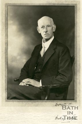 Autographed portrait of Mowbray A. Green