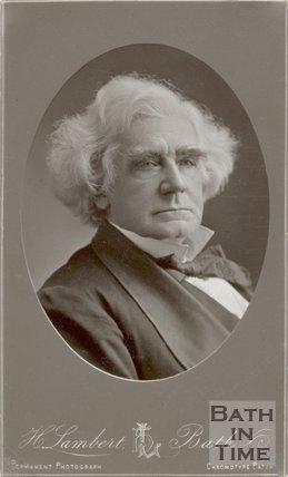 Portrait of Mr S.C. Hall