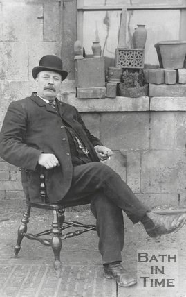 Postcard of Charles Harding