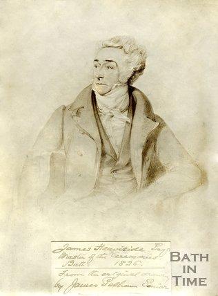 Portrait of James Heavisde