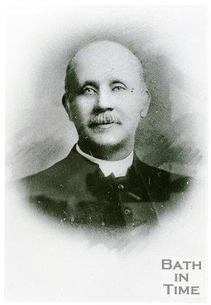 Portrait of Reverend M.E. Hoets