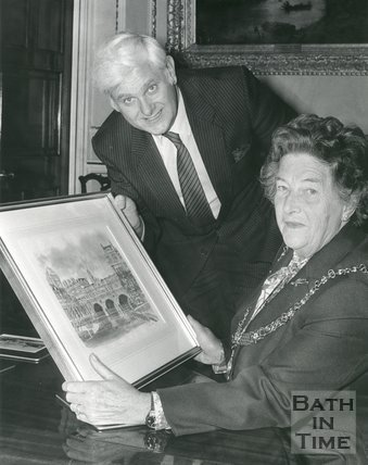 Photograph of Janette Hole and Peter Westlake
