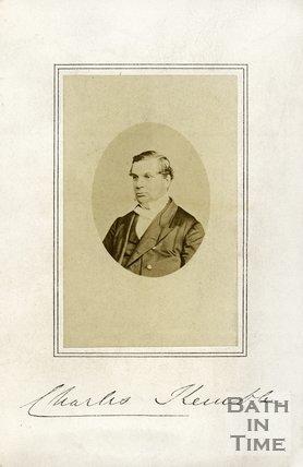 Autographed portrait of Reverend Charles Kemble