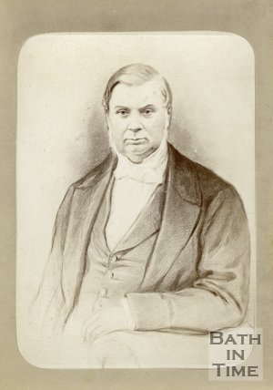 Portrait of Reverend Charles Kemble