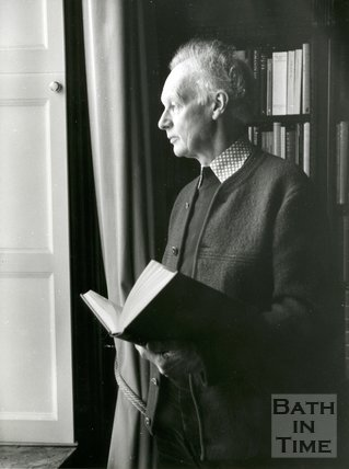 Portrait of James Lees-Milne, c.1982