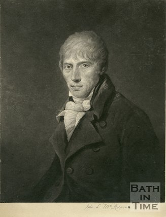 Portrait of John Loudon McAdam (1756-1836)