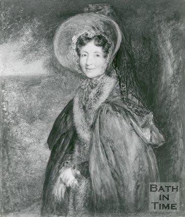 Portrait of Mrs. Malthus nee Harriet Eckershall (1777-1864)