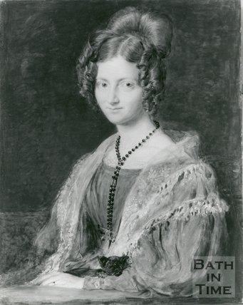 Portrait of Emily Malthus (1806-1885)