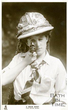 Portrait of Miss Decima Moore