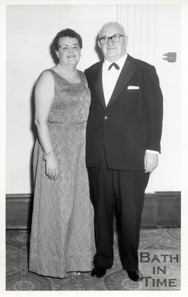 Photograph of Jean & Murray Claude (both d.1983)