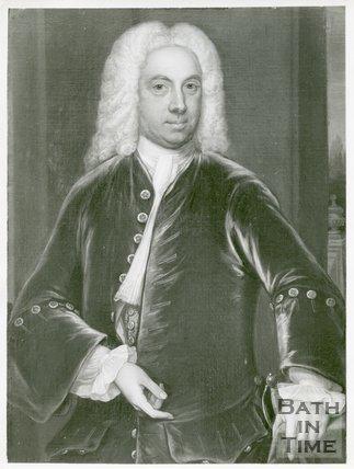 Portrait of Dr. William Oliver (1695-1764)