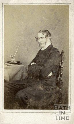 Portrait of Reverend James Pyecroft