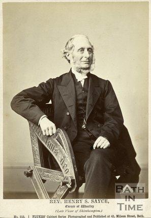 Portrait of Reverend Henry Sayce