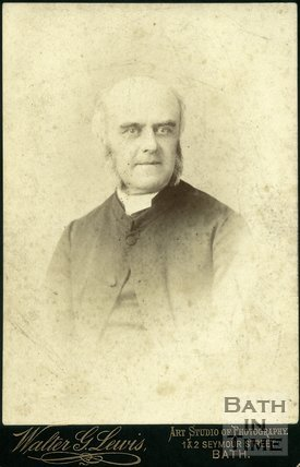 Portrait of Reverend W. Stokes Shaw